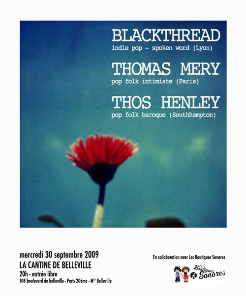 Blackthread - Thomas Mery - Thos Henley